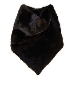 32 PARADIS SPRUNG FRERES   Yasue Black Mink-Fur Scarf