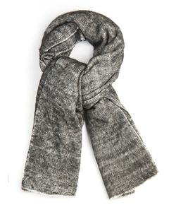 Denis Colomb   Hokkaido Nomad Yak Wool And Cotton-Blend Scarf