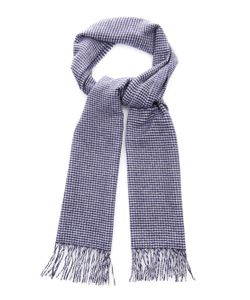 BEGG & CO. | Arran Hounds-Tooth Cashmere Scarf