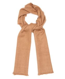 Denis Colomb   Four Sided Fringed Cashmere Scarf