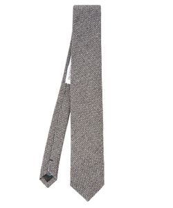 MATHIEU JEROME | Natte Weave Silk Tie