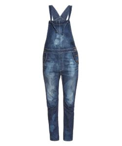 TORTOISE JEANS | Water Stained Straight-Leg Dungarees