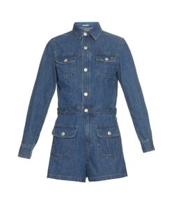 Alexa Chung for AG | The Loretta Denim Playsuit