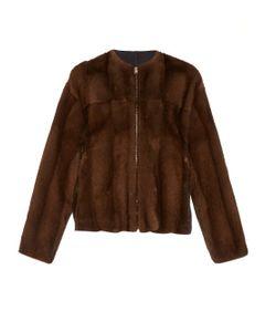 32 PARADIS SPRUNG FRERES   Collarless Mink-Fur Jacket