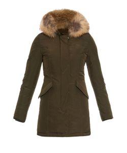 WOOLRICH JOHN RICH & BROS. | Luxury Arctic Raccoon Fur-Trimmed Parka