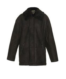 YEEZY SEASON 1   Oversized Shearling Coat