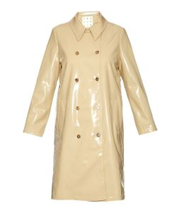TRADEMARK | Double-Breasted Trench Coat