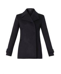 Freda | Double-Breasted Wool Pea Coat
