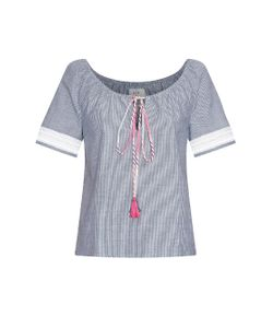 VMT | Jane Striped Cotton Top