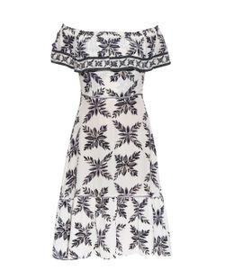EASTON PEARSON TAKE AWAY | Aloha Frond-Print Silk Dress
