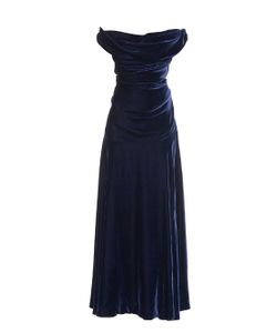 Vivienne Westwood Gold Label | Ginnie Off-Shoulder Velvet Gown