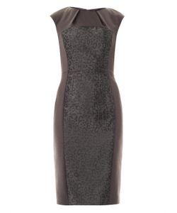 Freda | Bailey Jacquard Panel Dress