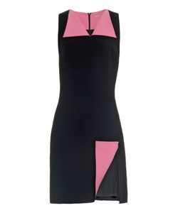 Christopher Kane | Folded-Split Bi-Colour Cady Dress