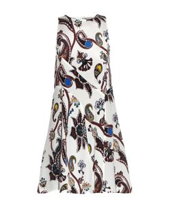 Mary Katrantzou | Macbay Urdu Paisley-Print Silk Mini Dress