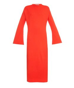 THOMAS TAIT | Ribbed-Knit Maxi Dress