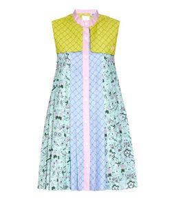 ADIDAS X MARY KATRANTZOU | People-Print Storm-Flap Textured Dress