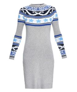 Banjo & Matilda | Star-Jacquard Long Knit Dress