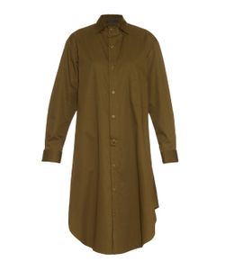 YOHJI YAMAMOTO REGULATION | Cotton-Twill Shirt Dress