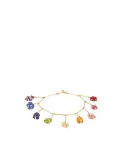 PIPPA SMALL | Multi-Stone Yellow-Gold Bracelet