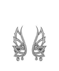 Stephen Webster | Diamond Gold Magnipheasant Earrings
