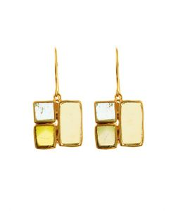 PIPPA SMALL | Tourmaline And Yellow-Gold Earrings
