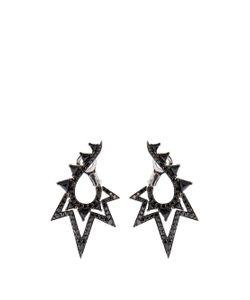 Stephen Webster | Diamond Spinel Gold Lady Stardust Earrings