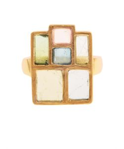 PIPPA SMALL | Tourmaline Yellow-Gold Ring