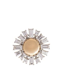 Susan Foster | Diamond Platinum Yellow-Gold Ring