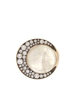 Noor Fares | Eclipse Diamond And Moonstone Ring
