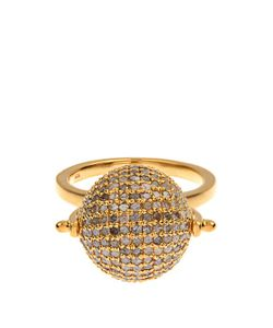 JADE JAGGER | Diamond Gold-Plated Disco Ball Ring