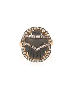 SILVIA FURMANOVICH | Diamond Ebony Yellow-Gold Ring