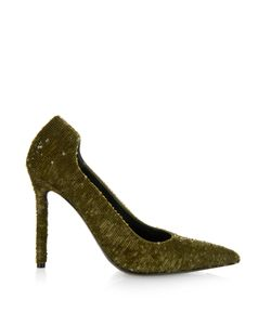 Balenciaga | Dorsay Sequin Pumps