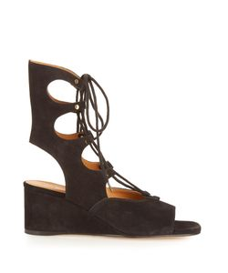 Chloe | Foster Lace-Up Wedge Sandals
