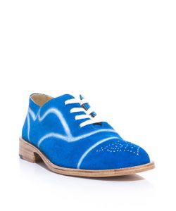 ESQUIVEL | Painted Detail Lace-Up Shoe