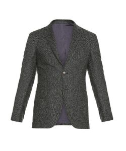 AC CANTARELLI | Single-Breasted Wool And Silk-Blend Blazer