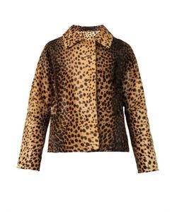 INÈS & MARÉCHAL | Wolga Leopard-Print Calf-Hair Jacket