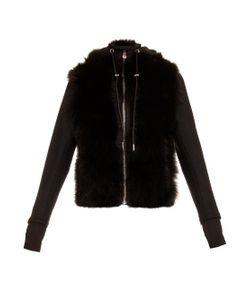 Aurelie Demel   Runner Fur And Wool-Blend Hooded Jacket