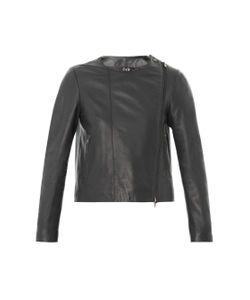 Freda   Phoebe Leather Jacket
