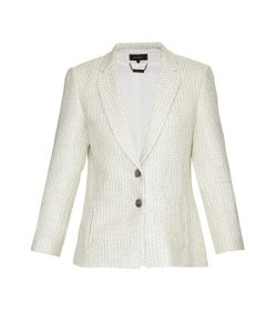 Wes Gordon | Celadon Tweed Blazer