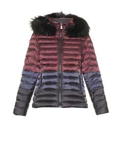 TONI SAILER | Margo Splendid Fur Colour-Block Ski Jacket