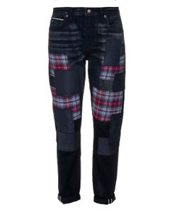 TORTOISE JEANS | Testudo Low-Rise Boyfriend Jeans