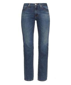 Alexa Chung for AG | The Sabine High-Rise Straight-Leg Jeans