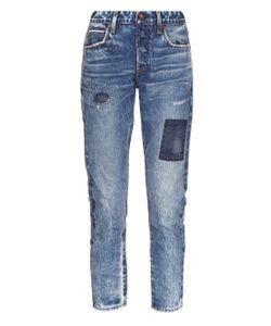 TORTOISE JEANS | Savanna Mid-Rise Straight-Leg Jeans