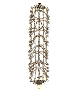 Erickson Beamon | Bette Gold-Plated Crystal Bracelet