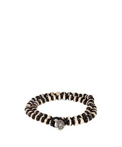 LUIS MORAIS | Bi-Colour Bead And White-Gold Bracelet