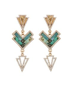 Lulu Frost | Ortigia Earrings