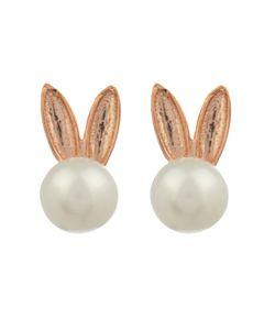 Aamaya By Priyanka | Bunny Pearl Earrings