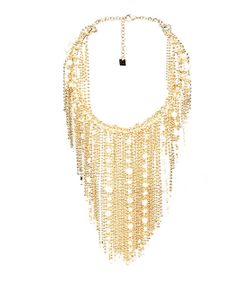 ROSANTICA BY MICHELA PANERO | Petardi Pearl-Embellished Fringed-Chain Necklace