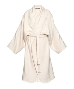 Denis Colomb   Hand-Woven Cashmere Cardigan