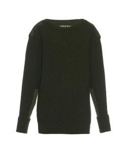 YEEZY SEASON 1   Military Ribbed-Knit Wool Sweater